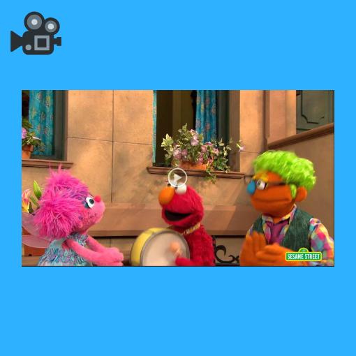 Sesame Street-Follow Curiosity