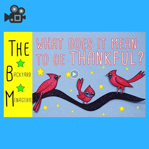 What does it mean to be thankful?